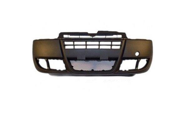 POLCAR, 304107-2, Бампер передний (чёрный) DOBLO 06-10