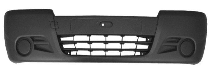 Бампер передний (серый) VIVARO 07-
