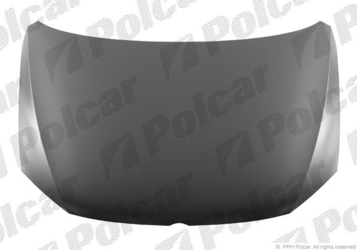 Капот JETTA, 07.10- , POLCAR, 950303