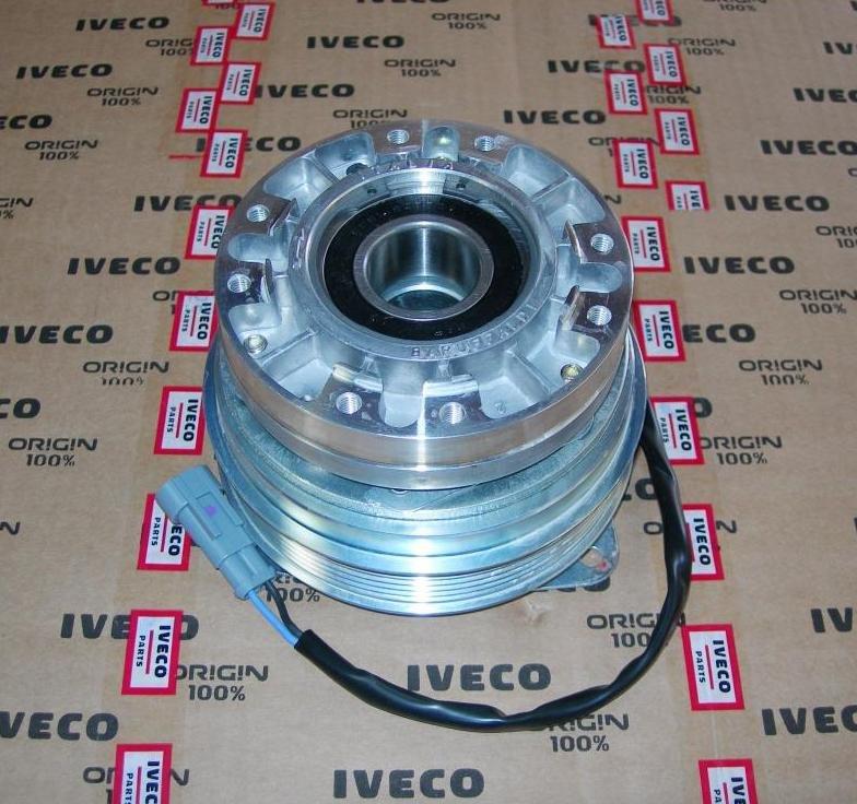 IVECO, 5801480322, Электромуфта вентилятора шкив вод. насоса IVECO DAILY 3.0 / 2004-2012